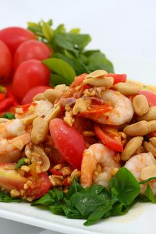 Free Seafood Salad Royalty Free Stock Images - 14635559
