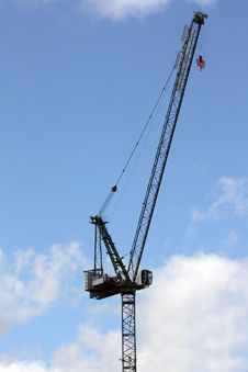 Free Crane For Construction Royalty Free Stock Image - 14635676
