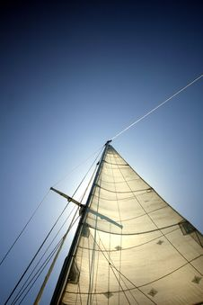 Free Sun In The Sails Royalty Free Stock Photos - 14635778
