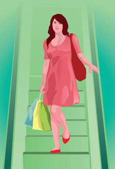 Free The Shopper Royalty Free Stock Photography - 14636167