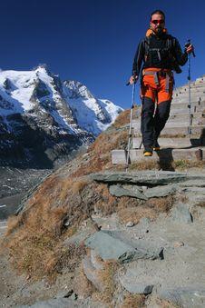 Free Mountain Hiking Stock Image - 14636251
