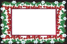 Free Frame With Cherry Stock Image - 14636401