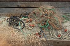 Free Fishing Net Royalty Free Stock Photo - 14636615