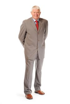 Free Successful Mature Businessman Stock Photography - 14636712