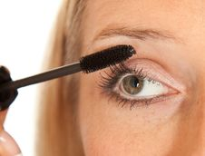 Free Eyelashes Makeup Royalty Free Stock Images - 14636809