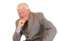 Successful Mature Businessman Royalty Free Stock Photo
