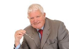 Free Successful Mature Businessman Stock Photo - 14636900