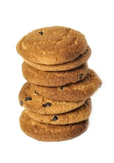 Free Oatmeal Cookies Royalty Free Stock Image - 14637136