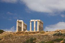 Free Poseidon Temple Sounion Stock Photo - 14638860