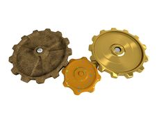 Free Family Gears Royalty Free Stock Images - 14638899