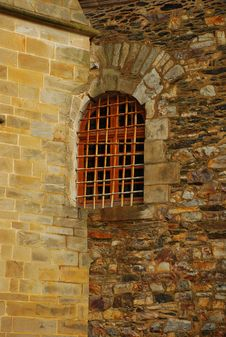 Free Window In A Stone Wall Stock Photos - 14639043