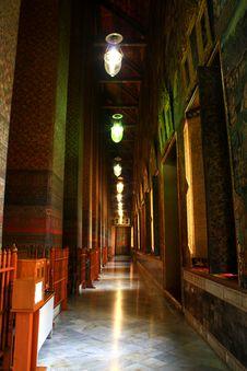 Free Wat Corridor Stock Images - 14639984