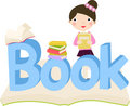 Free Girl And Book Royalty Free Stock Photography - 14641267