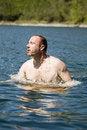 Free Man Swimming Royalty Free Stock Photo - 14647415
