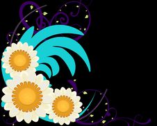 Free Colorful Daisy Floral Background Stock Image - 14640131