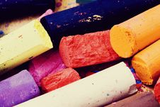 Free Pencil And Pastel Stock Images - 14640724