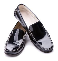 Free Black Women S Leather Shoes Royalty Free Stock Photography - 14640737