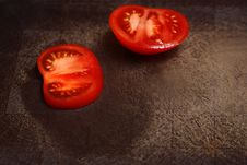 Free Segments Of Tomatoes Stock Photography - 14640802