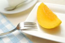Healthy Peach Fruit Royalty Free Stock Image