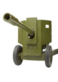 Free Toy Cannon Front | Isolated Stock Photography - 14641792