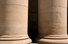 Large Pillars Stock Photos