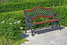 Free Garden Bench Stock Photo - 14642340