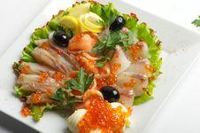 Free The Fish Dish Royalty Free Stock Photo - 14643005
