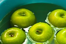 Free Apples In The Basin Stock Images - 14643184