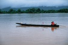 Mekong River, Thailand - Laos Royalty Free Stock Photo