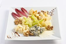 Free Cheese Plate Royalty Free Stock Photos - 14643418