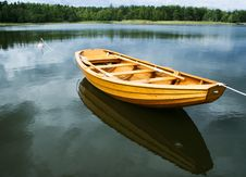 Free Swedish Rowingboat Royalty Free Stock Photos - 14644358