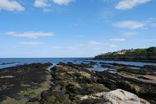 Free Rocky Coastline Royalty Free Stock Image - 14645126