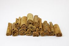 Cinnamon Sticks, Stick Of Cinnamon Stock Image