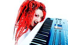 Free Crazy Pianist Stock Image - 14645771