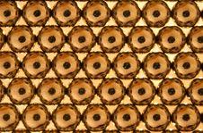 Free Shiny Gold Beads Background Royalty Free Stock Photo - 14645975