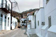 Free Street In Hydra Stock Image - 14646061
