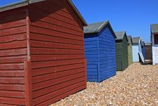 Free Beachhuts Royalty Free Stock Images - 14646119