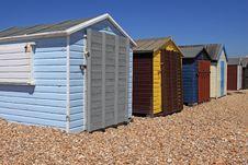 Free Beachhuts Royalty Free Stock Photos - 14646188