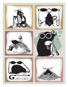 Free Mole Royalty Free Stock Photos - 14647548