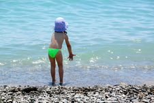 Free Child And The Sea Stock Photos - 14647593