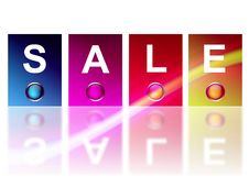 Free Sale Colors Stock Photography - 14647832