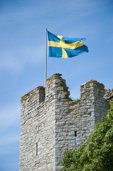 Free Swedish Flag Royalty Free Stock Photos - 14647868