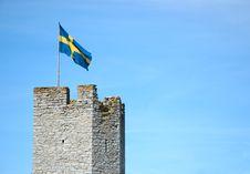 Free Swedish Flag Royalty Free Stock Photo - 14648025