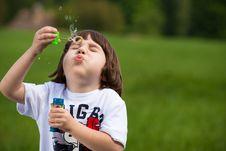 Free Make A Bubble Stock Photos - 14648153