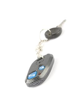Car Key With Remote Royalty Free Stock Photo