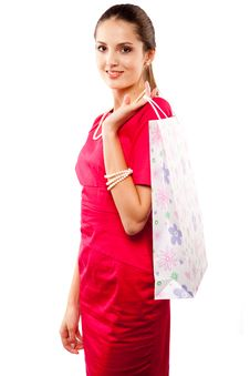 Free Woman Shopper Royalty Free Stock Image - 14649806
