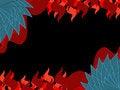 Free Dragon Skin  Flame Background Royalty Free Stock Image - 14652706