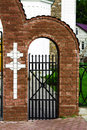 Free Gate To Church Royalty Free Stock Image - 14652826