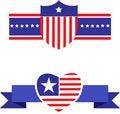 Free American Patriotic Symbols Set -2 Stock Photography - 14655982