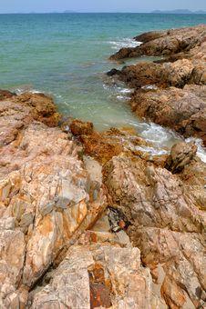 Free Reef On Beach Royalty Free Stock Image - 14650246